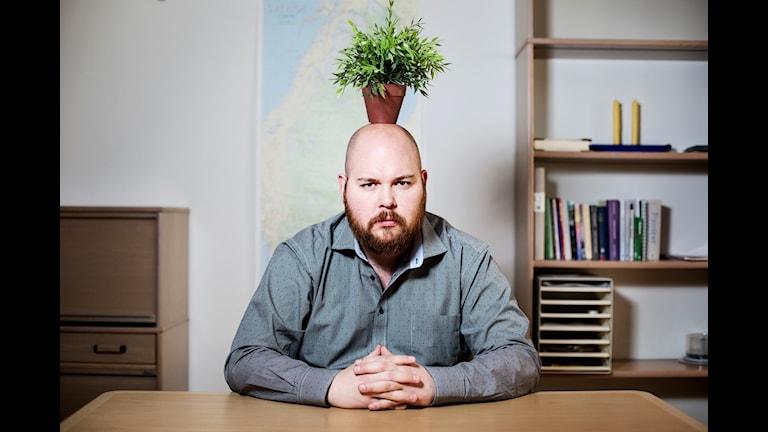 Johannes Finnlaugsson, Tankesmedjan i P3. Foto: Julia Lindemalm