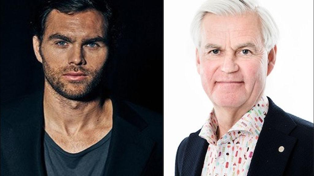 Tidigare landslagsspelaren Johan Elmander och tränaren Nanne Bergstrand blir nya fotbollsexperter på Radiosporten. Foto: David Denman, Bildbyrån