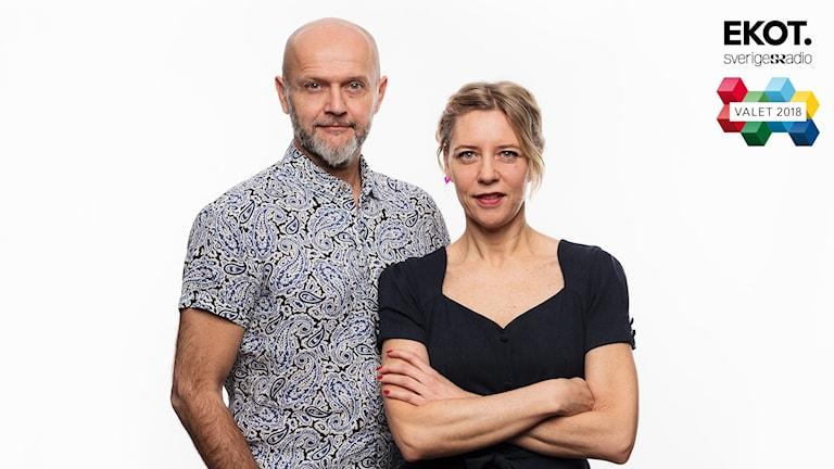 Ekots utfrågare partiledardebatter och valvaka Lasse Johansson och Katherine Zimmerman Ekot Sveriges Radio