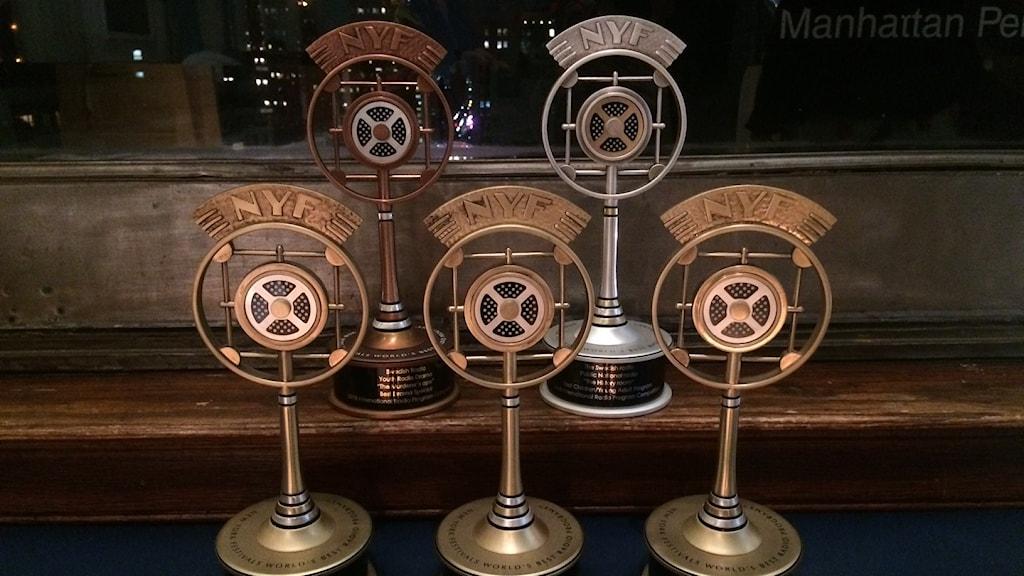 Fem medaljer till Barnradion på New York Festivals