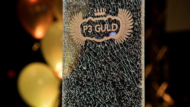 P3 Guld-plakett. Foto: Mattias Ahlm/Sveriges Radio