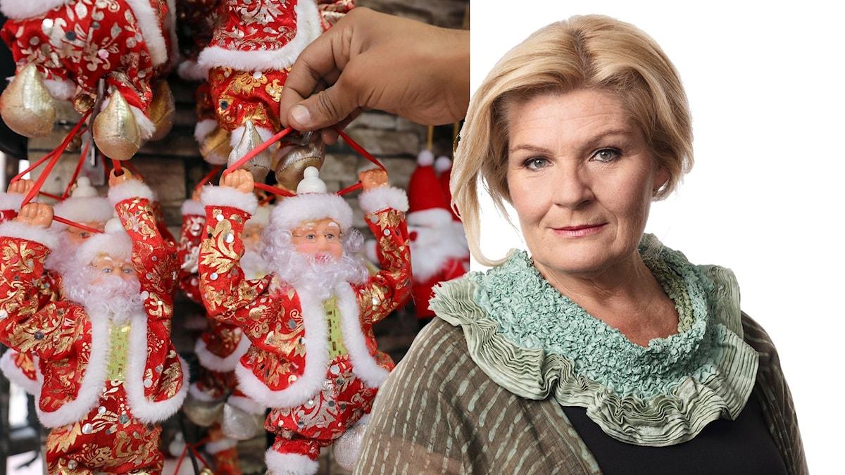 En julhälsning från Sveriges Radios korrespondent.