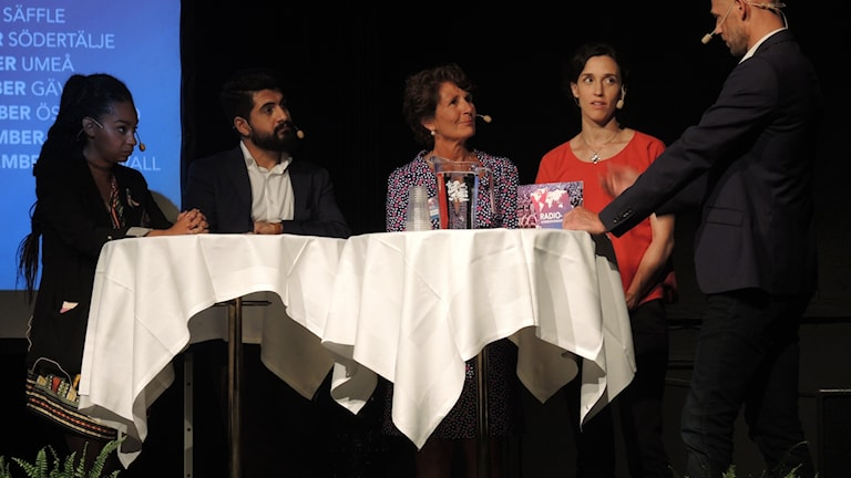 Hanna Sahlberg, Alice Petrén, Hewa Abdelzadeh och Palmira Koukkari Mbenga.