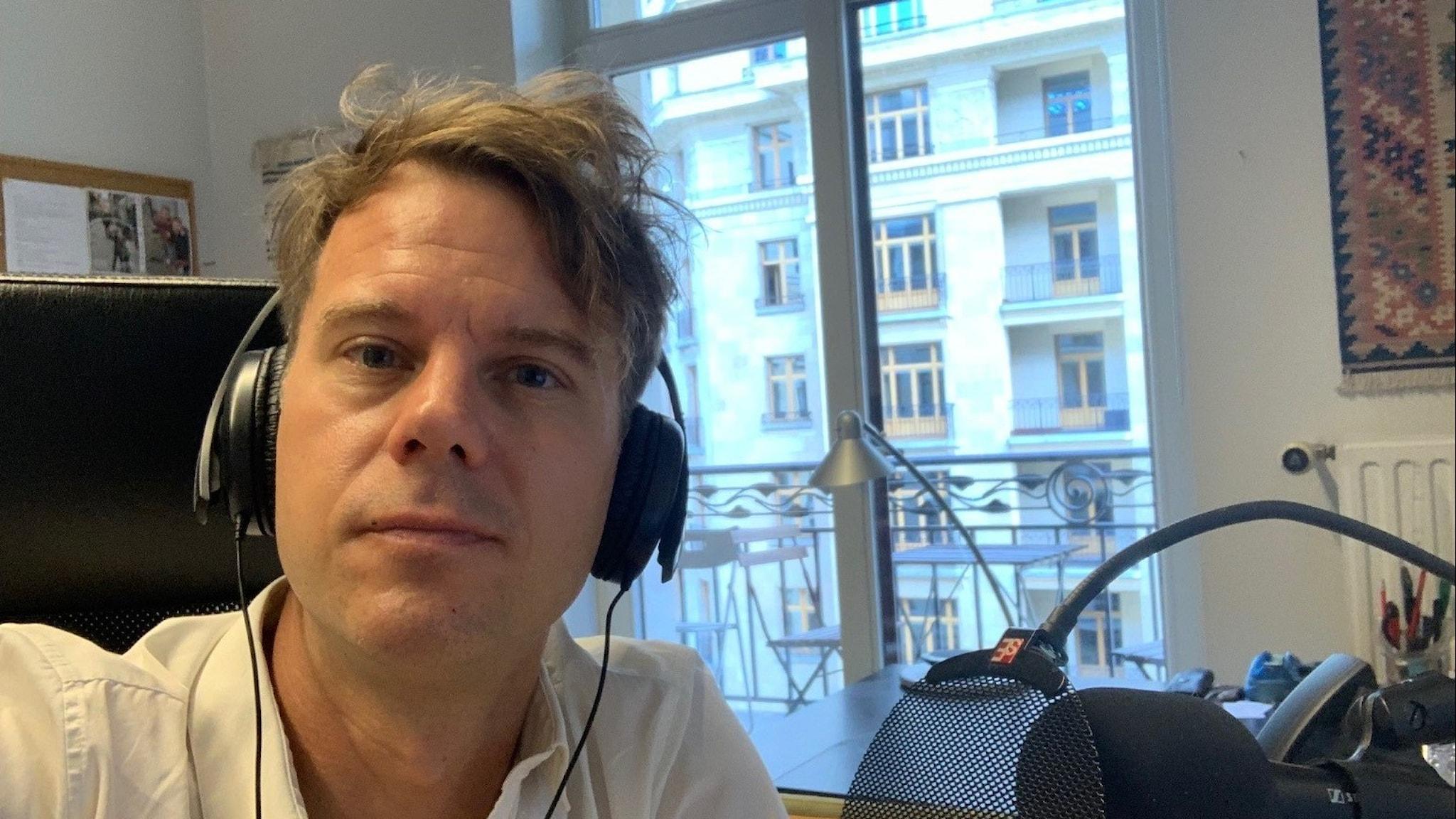 Andreas Liljeheden Sveriges Radios Brysselkorrespondent.