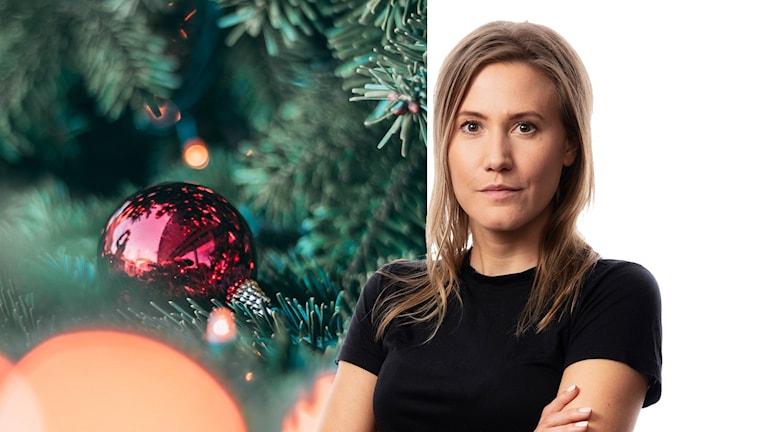 God jul önskar Sveriges Radios korrespondent