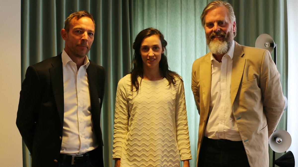 Björn Kullgard, Hanna Sahlberg och Martin Karlberg