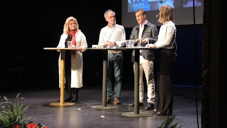 Ingvar Storm, Cecilia Uddén, Lisa Bergström och Johan Bergendorff