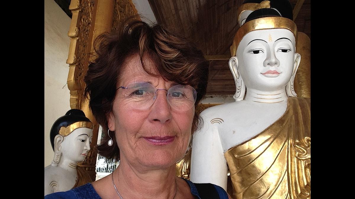 Alice Petrén i Burma