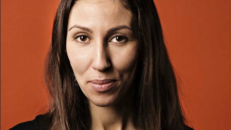 """Sîlan Diljen, aktuell med P1- dokumentären """"Min flykt"""". Martina Holmberg/Sveriges Radio"""