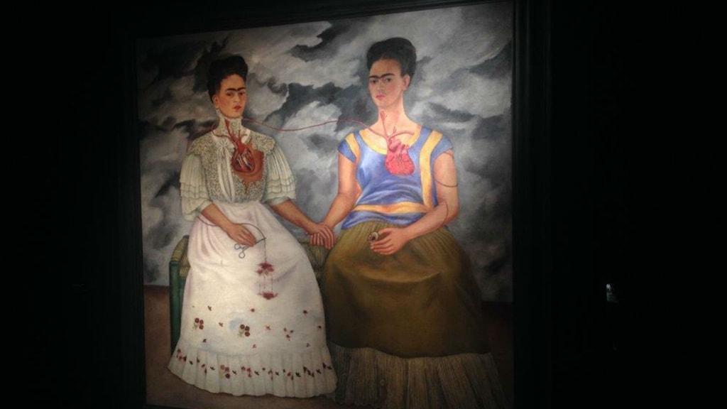 Lisas favorit bland Frida Kahlos många verk. Foto: Lisa Bergström