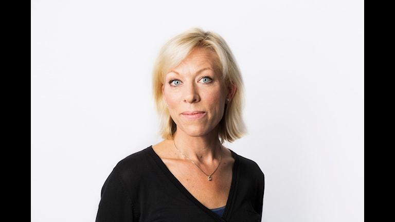 Ginna Lindberg (Utrikeschef). Foto: Mattias Ahlm/Sveriges radio.