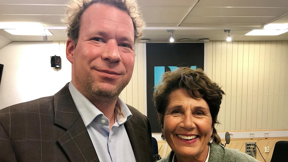 Alice Petrén och Bernd Parusel