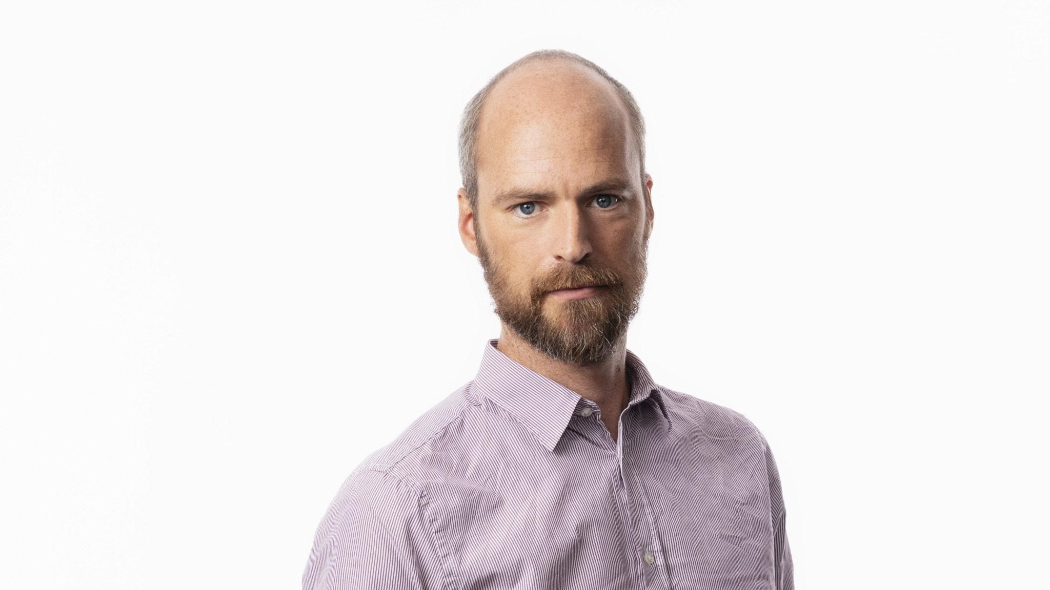 Samuel Larsson bland medicinmän, människosmugglare och migranter