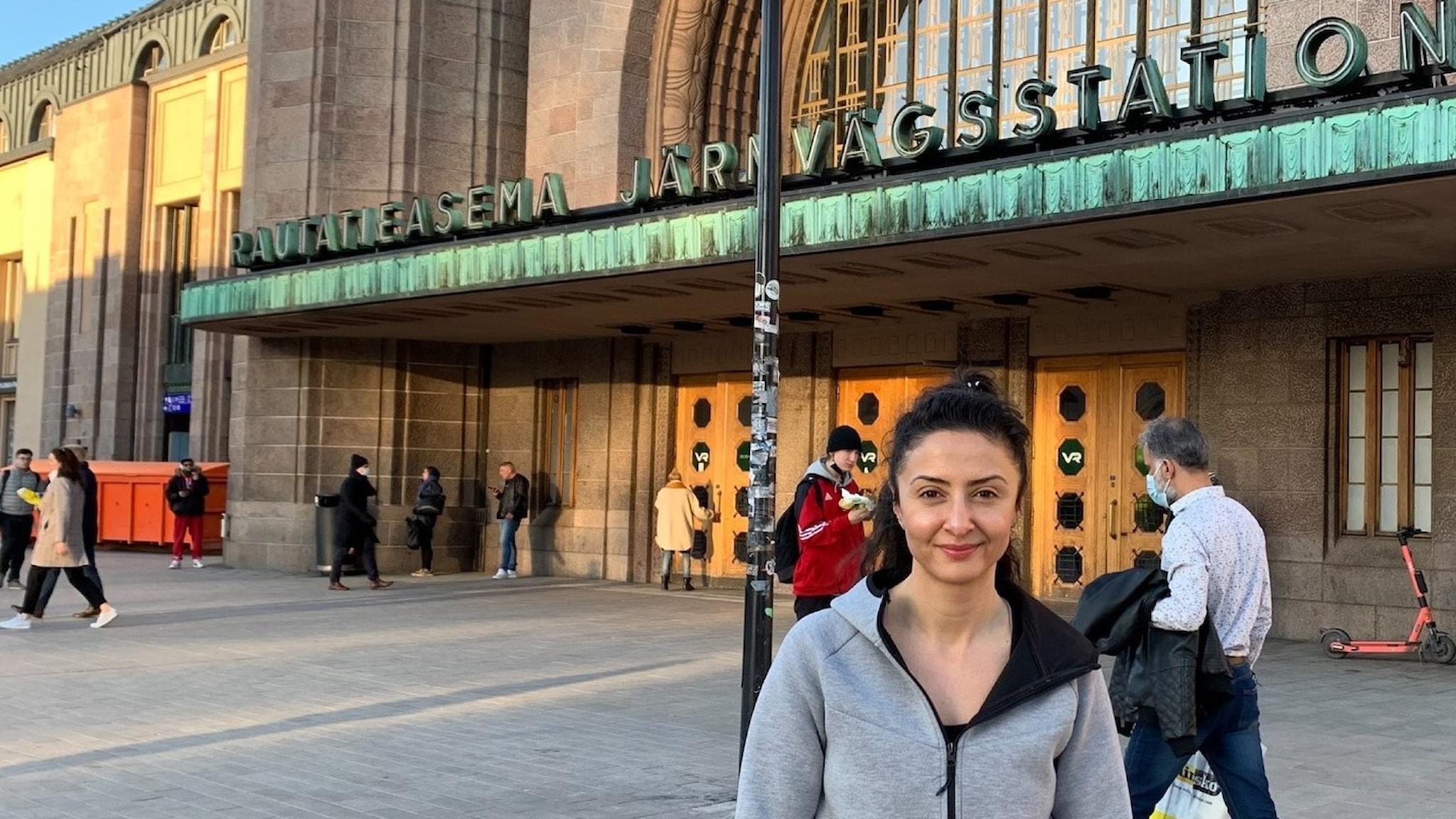 Lubna El-Shanti i Helsingfors