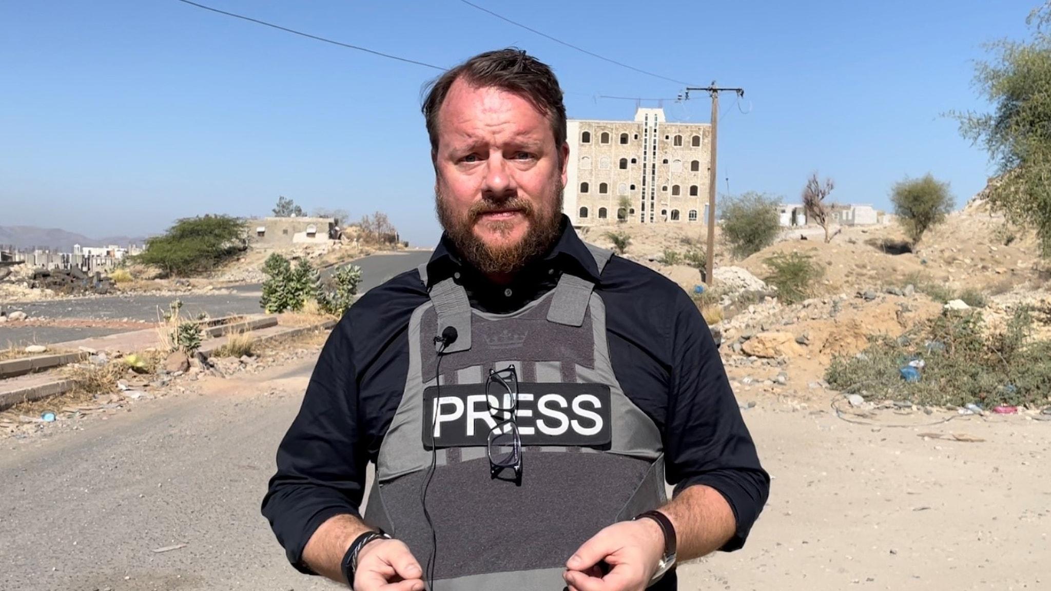 Johan-Mathias Sommarström i Jemen