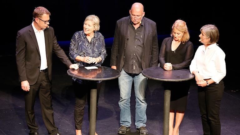 Jan Andersson, Agneta Ramberg, Staffan Sonning, Beatrice Janzon och Daniela Marquardt.