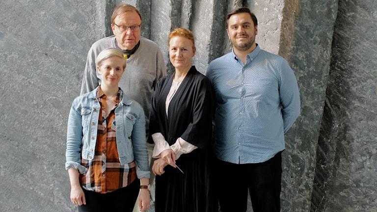 Kathryn Leroux, Dag Blanck, Katherine Angelo Hanly och Alex Lange
