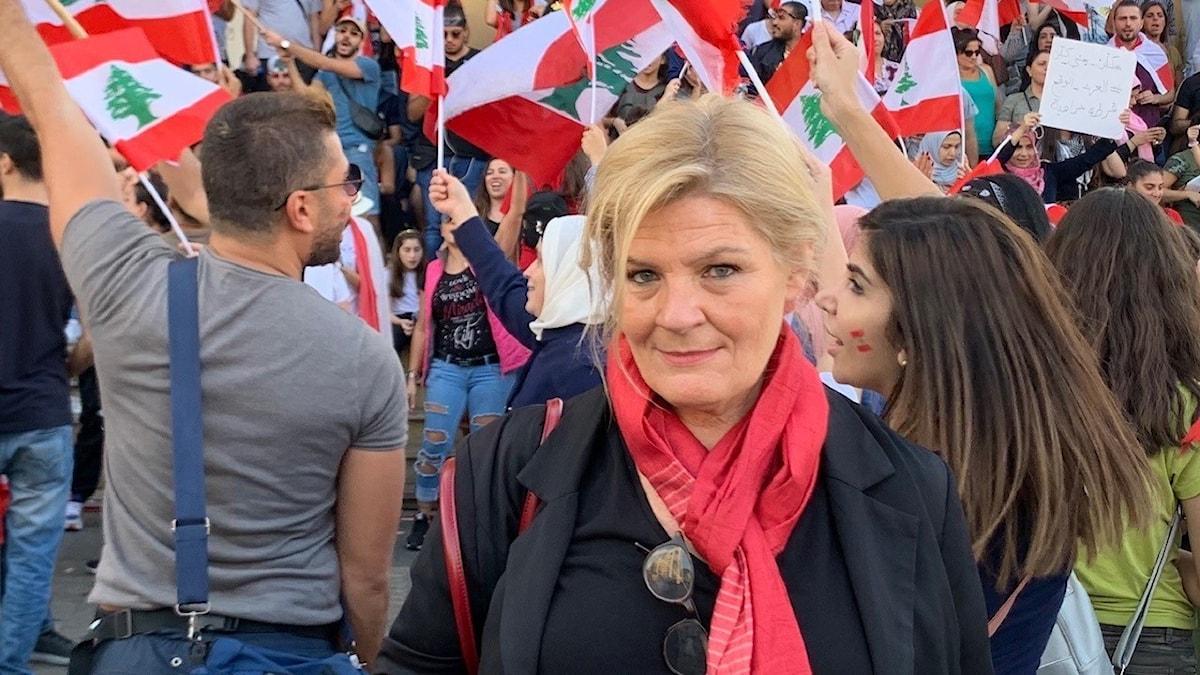 Cecilia Uddén i Libanon