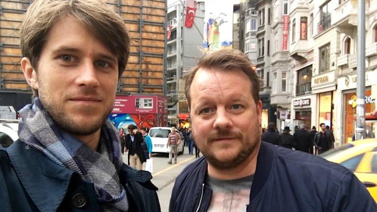 Tomas Thorén och Johan-Mathias Sommarström