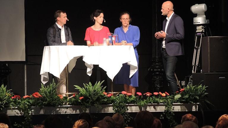 Lotten Collin, Hanna Sahlberg och Johan Bergendorff.