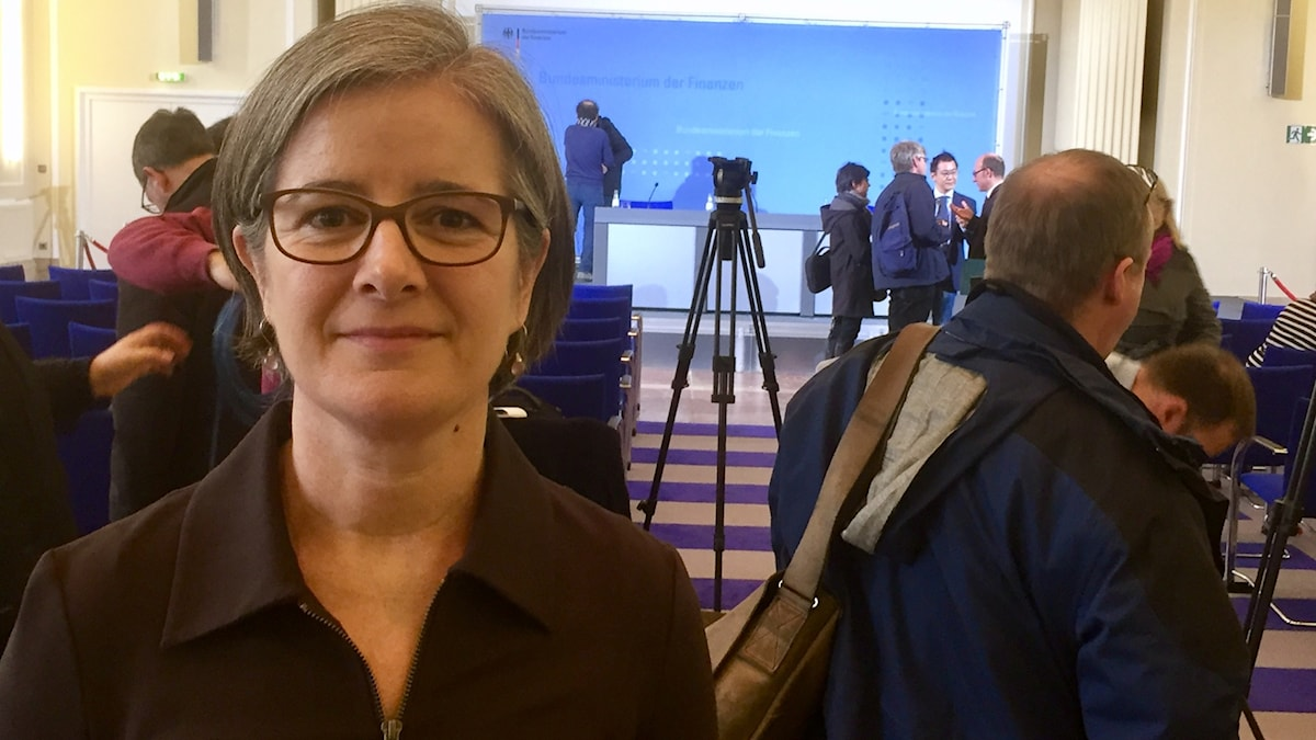 Daniela Marquardt, Sveriges Radios Tysklandskorrespondent.