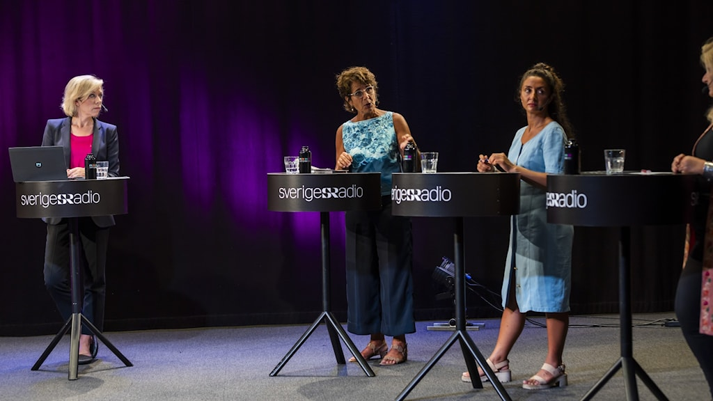 Ginna Lindberg, Alice Petrén, Lubna EL-Shanti och Cecilia Uddén.