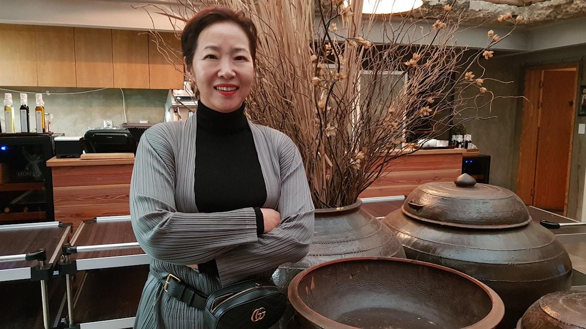 Matkreatör Han Yun-jus middagsmeny under statsbesöket med USA:s president, fick diplomatiska konsekvenser.