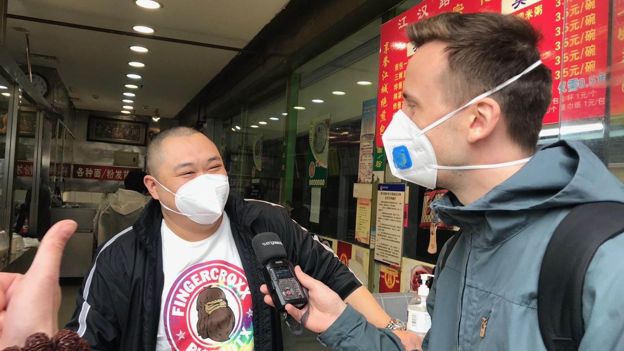 Björn Djurberg om Wuhan där coronaviruset bröt ut