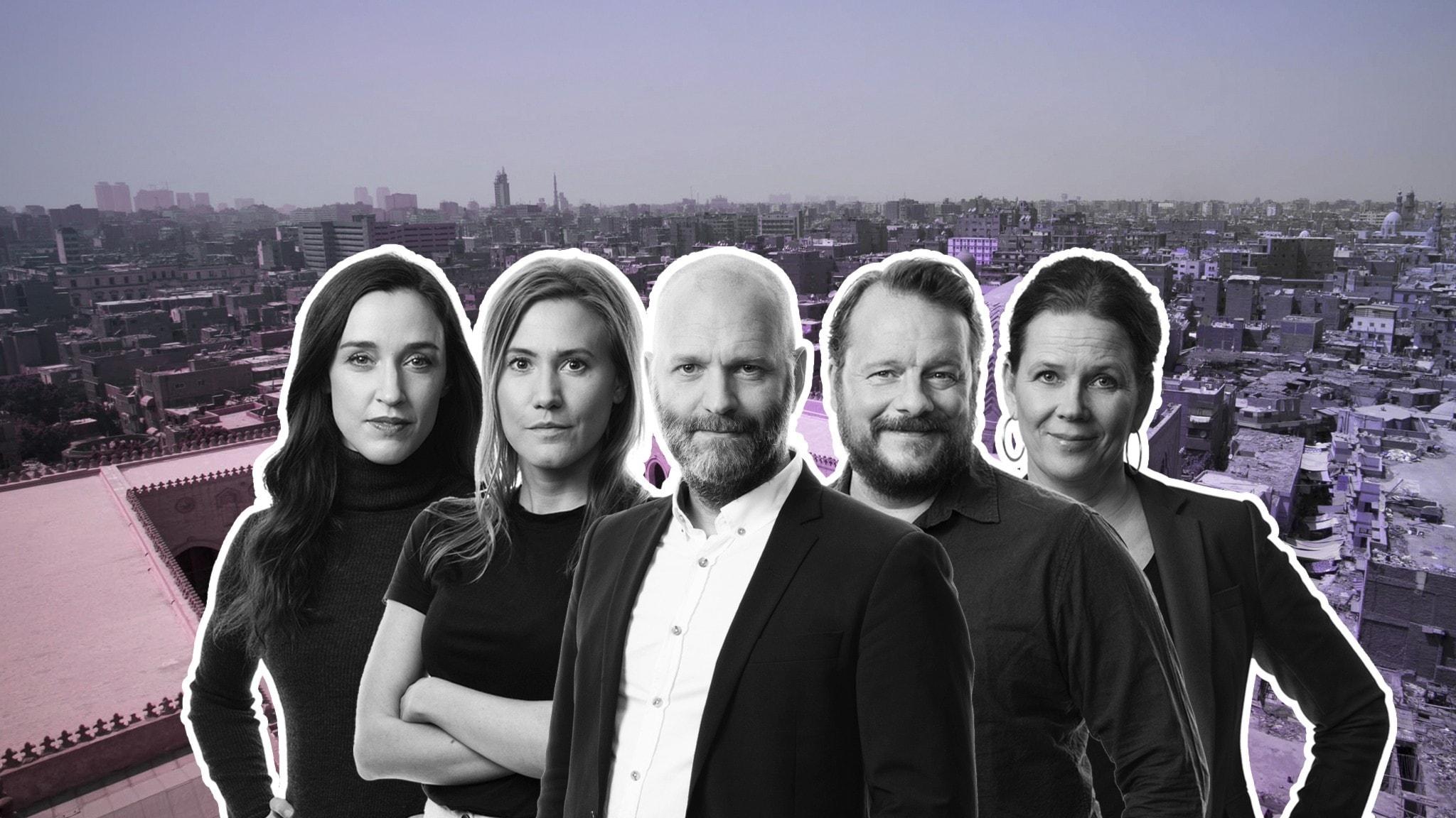 Hanna Sahlberg, Caroline Kernen, David Rasmusson, Johan-Mathias Sommarström och Marie-Louise Kristola.