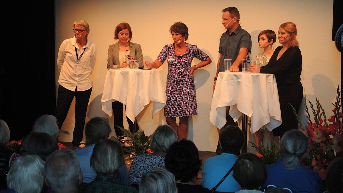 Beatrice Janzon, Johanna Melén, Alice Petrén, Katja Magnusson och Richard Myrenberg.