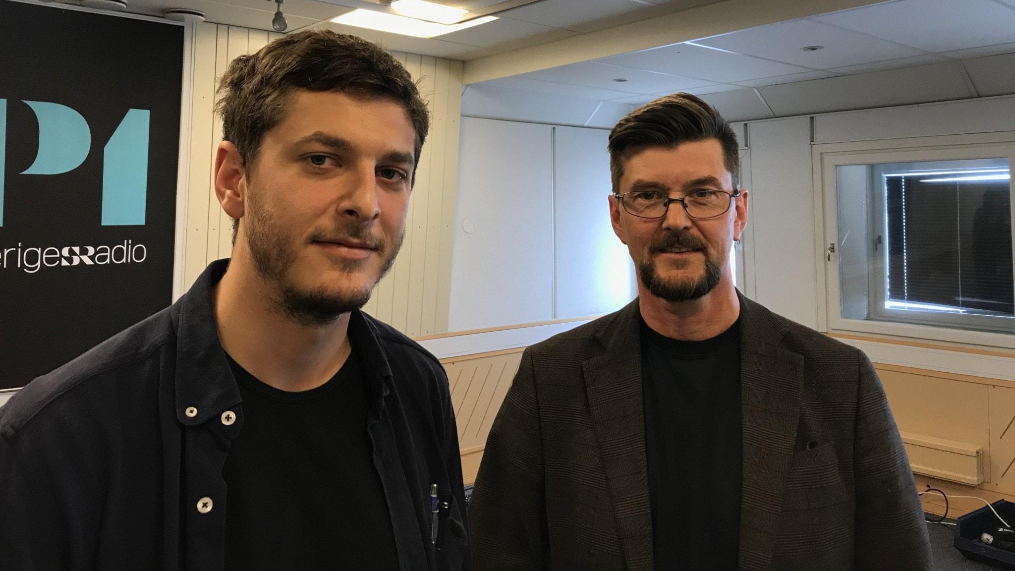 Filip Kotsambouikidis och Paul Levin
