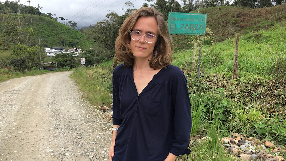 lotten Collin i Ecuador