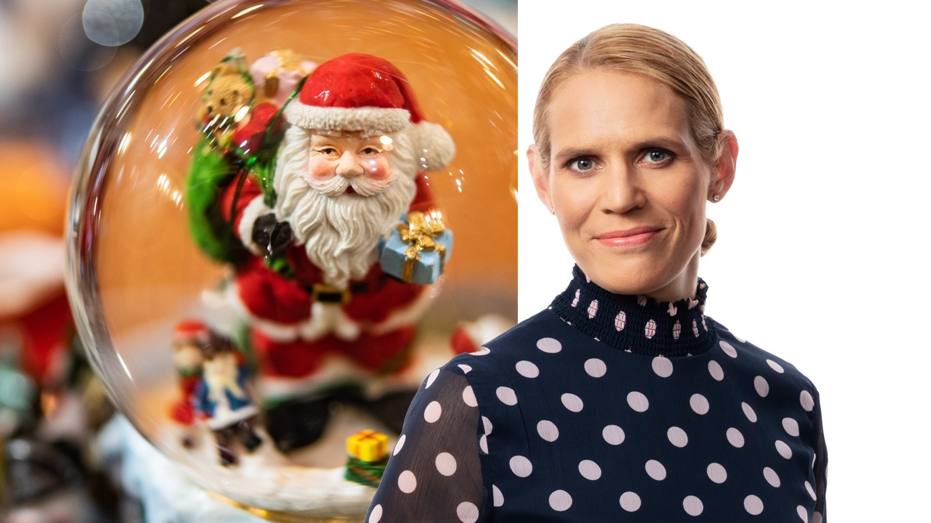 Tomten bor i Finland – men inte i Rovaniemi: Erika Gabrielsson, Helsingfors