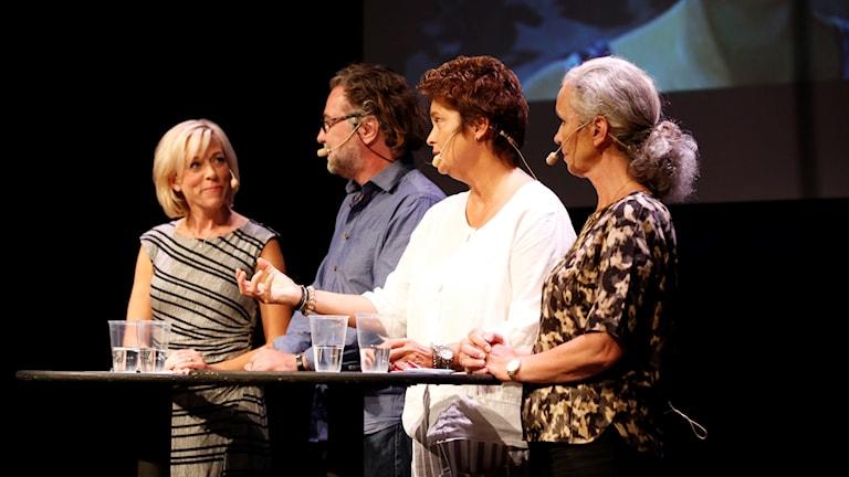 Inger Arenander, Agneta Furvik, Anders Ask och Ginna Lindberg