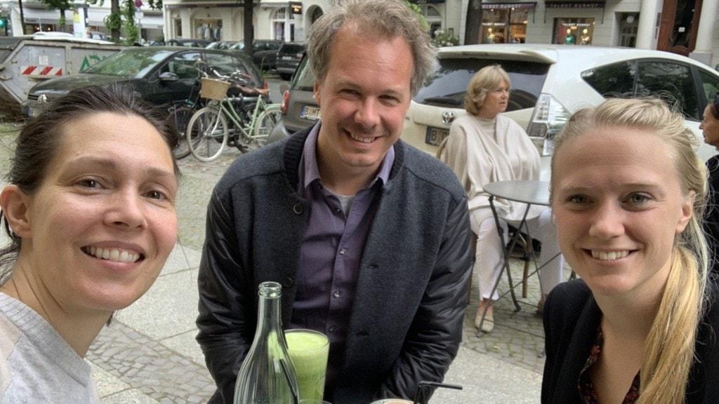 Caroline Salzinger, Jona Källgren och Lovisa Herold