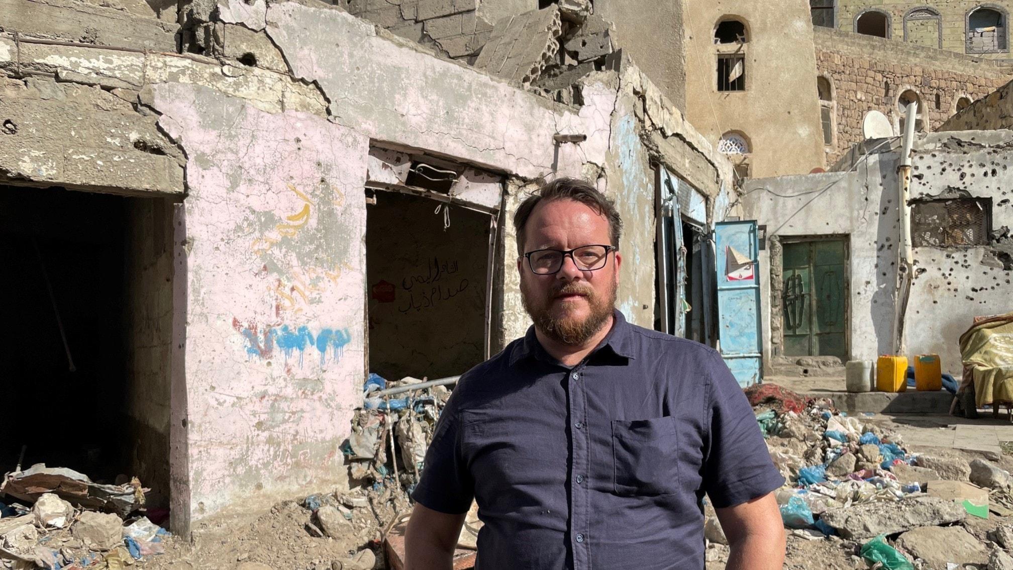 Johan-Mathias Sommarström om krigets ansikte i Jemen