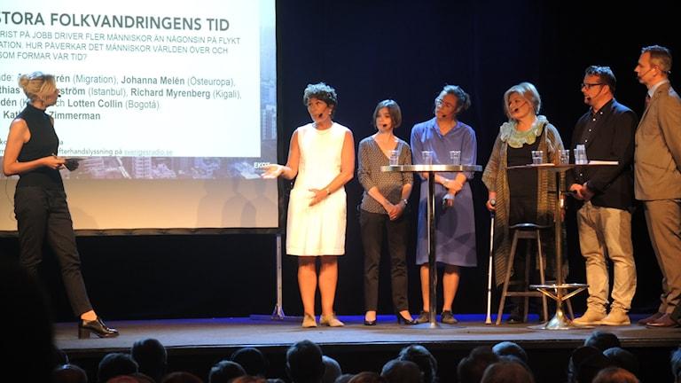 Katherine Zimmermann frågar ut Lotten Collin, Alice Petrén, Johanna Melén, Daniela Marquardt, Johan-Mathias Sommarström.
