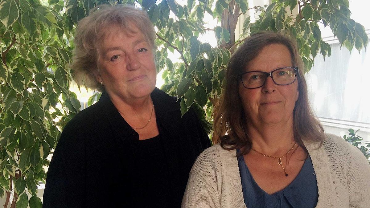 Marianne Hultberg och Maria Persson Löfgren.