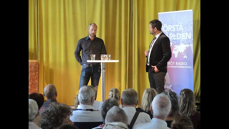 Johar Bendjelloul och Samuel Larsson