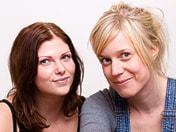 Pernilla Komes och Stina Ivansson är programledare för P3 Planet
