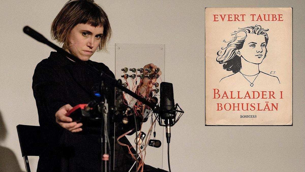 Tonsättaren och ljudkonstnären Kajsa Magnarsson. Foto: Dimitri Djuric.