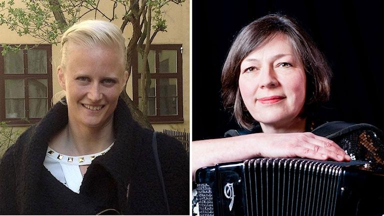 Carolina Klüft och Marie Wärme. Foto: Birgitta Tollan/Marie Wärme