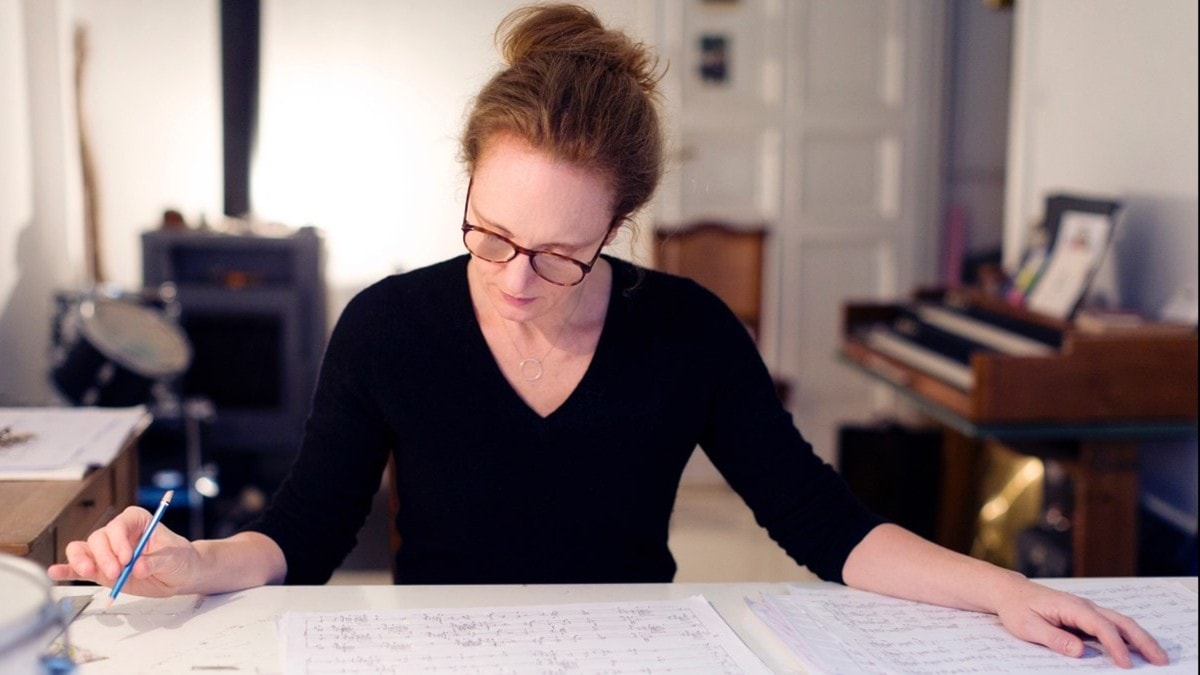 Musikmagasinet Tonsättaren Rebecca Saunders får Musikens Nobelpris!