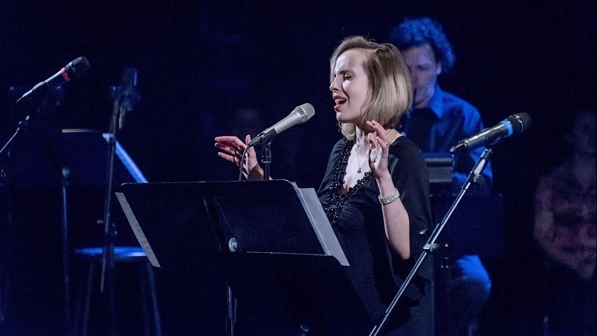 Sångerskan Sophie Milman medverkar på cd'n Yiddish Glory: The Lost Songs of World War II. Foto: Vladimir Kevorkov