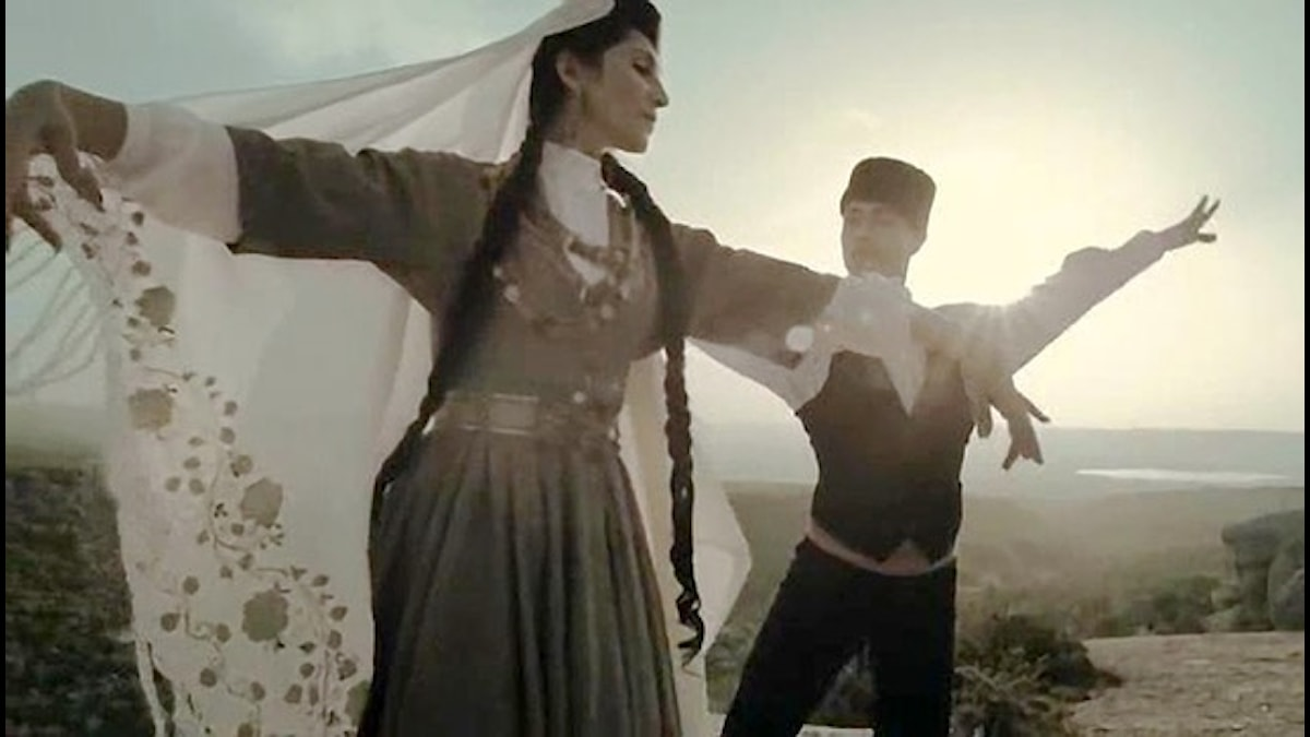 Krimtatariske Djemil Karikov skrev musik till filmen Haytarma