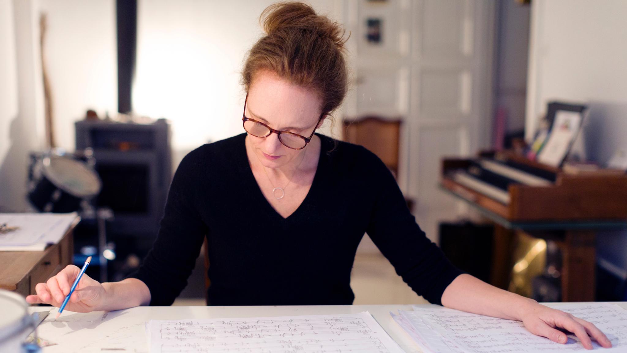 """Rebecca Saunders får """"Musikens Nobelpris"""". Foto: Astrid Ackermann"""