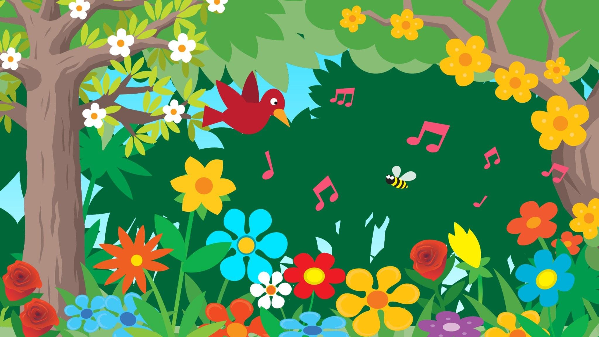Blommor och sommar