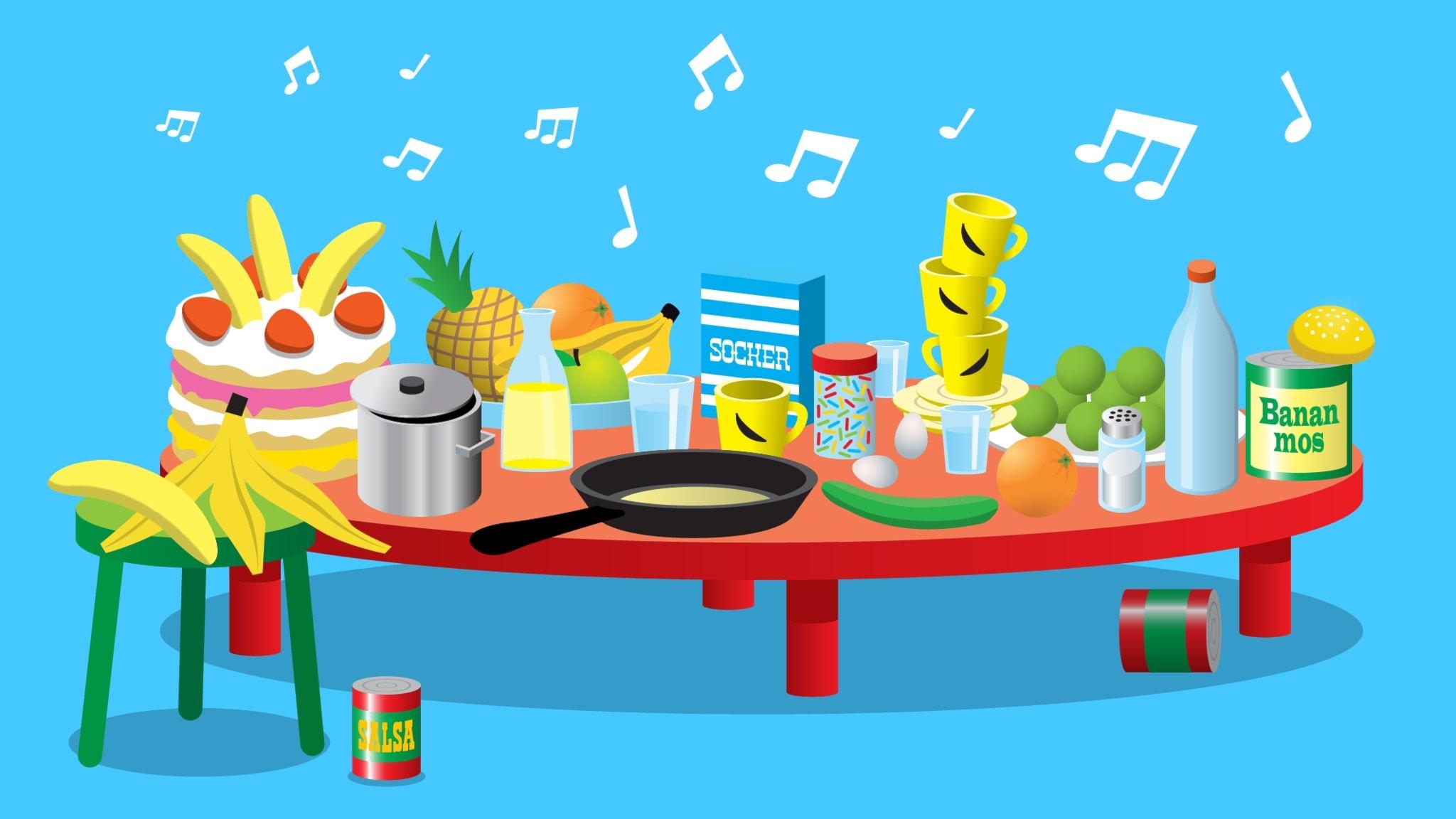 Mat, frukt, grönsaker