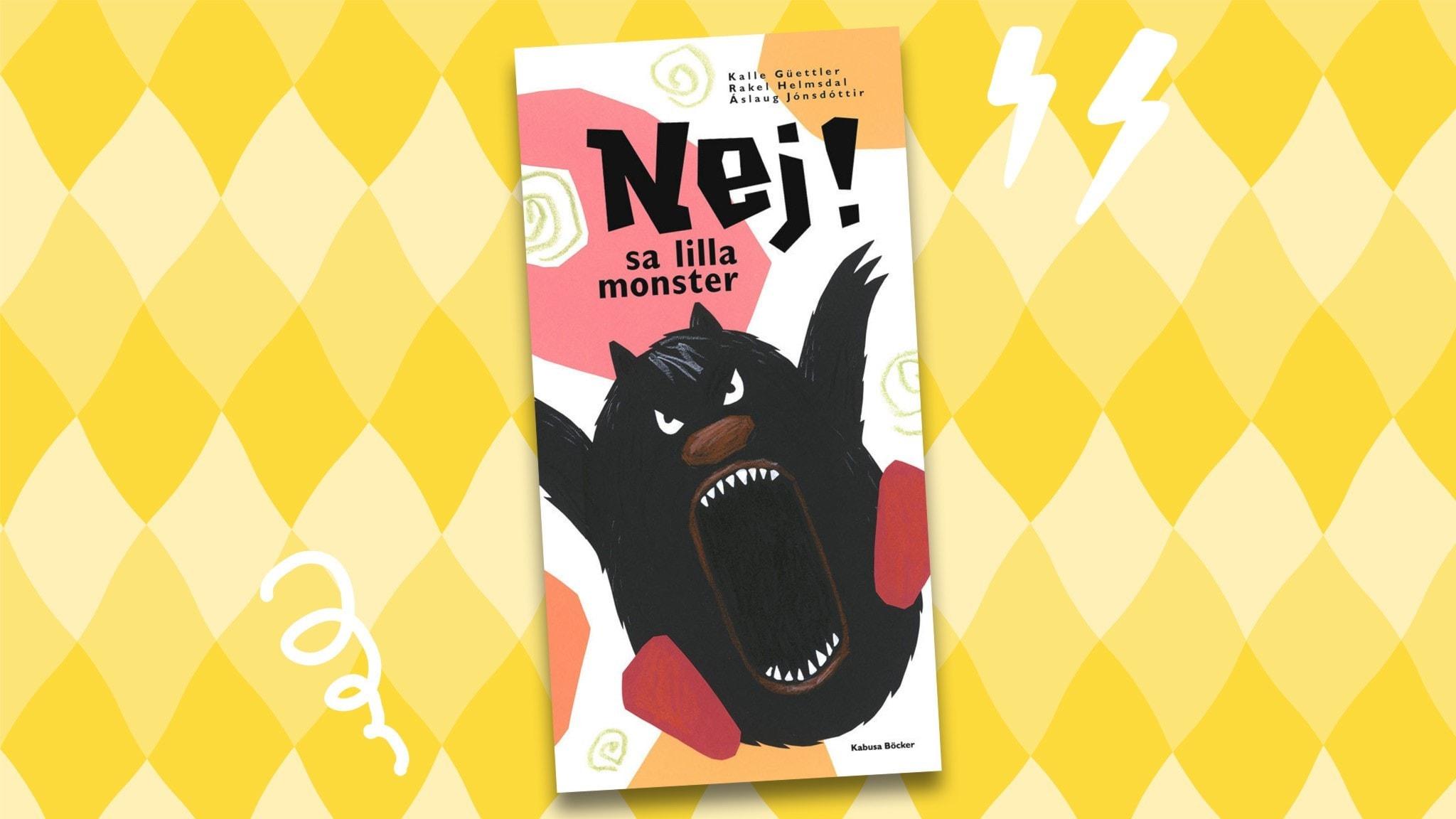 Monstersagor: Nej sa lilla monster