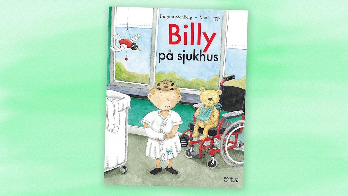Billy på sjukhus. Omslag: Mati Lepp